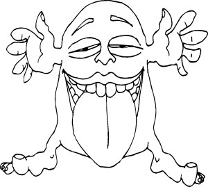 Funny Coloring Pages Halloween Coloring Sheets Printable Monsters Inc Pictures Funny