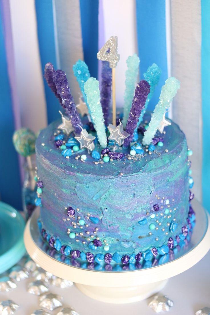 Galaxy Birthday Cake Galaxy Birthday Cakes