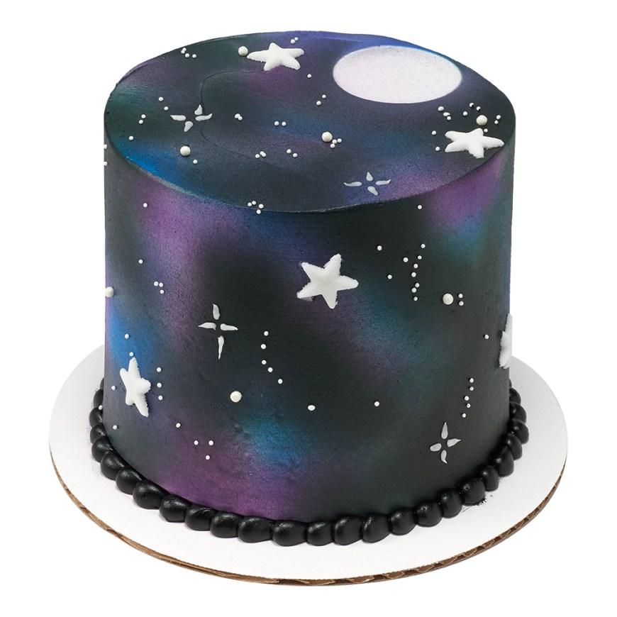 Galaxy Birthday Cake Night Sky Cake Decopac