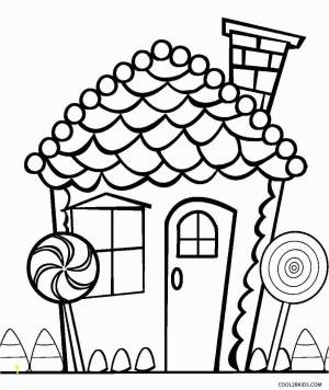 Gingerbread House Coloring Pages Candy Coloring Pages For Gingerbread House Zabelyesayan
