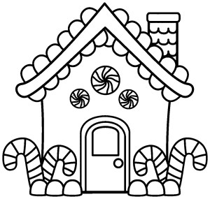 Gingerbread House Coloring Pages Coloring House I7 Perfect Gingerbread House Coloring Pages 39 With