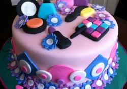 Girl Birthday Cake Ideas Spa Themed Birthday Cake Birthday Pinterest Cake Birthday