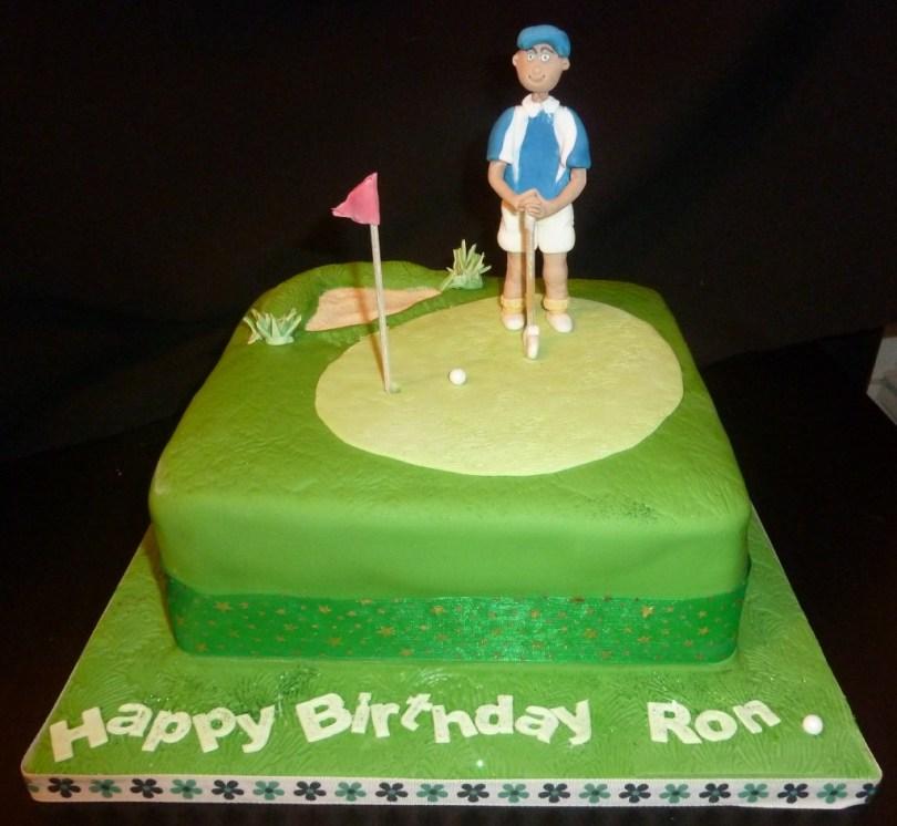 Golf Birthday Cakes Golf Birthday Cake Wedding Birthday Cakes From Maureens Kitchen