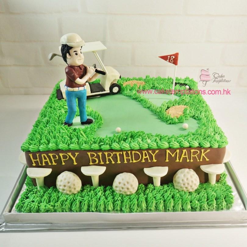 Golf Birthday Cakes Golf Birthday Cake