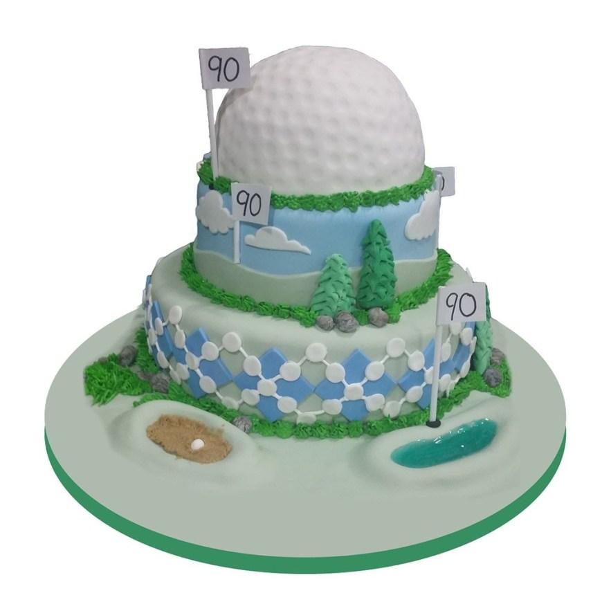 Golf Birthday Cakes Hole In One Golf Birthday Cake