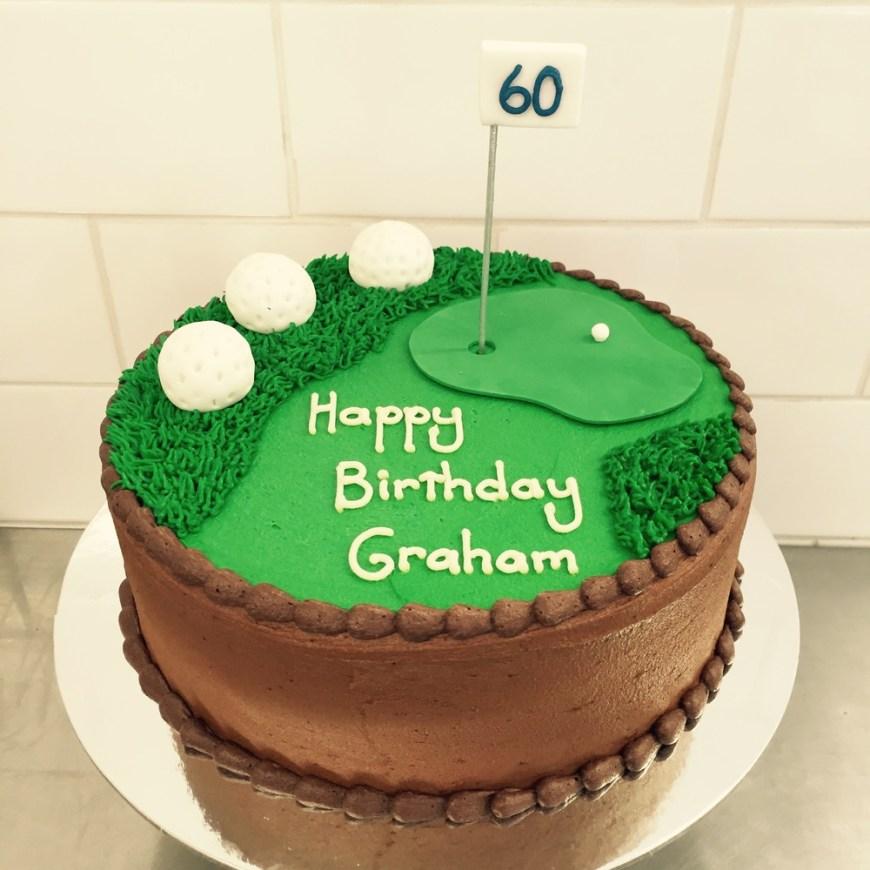 Golf Birthday Cakes Novelty Cakes Vanilla Pod
