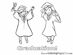 Graduation Coloring Pages Graduation Coloring Pictures Appytrucksandskulls Kindergarten