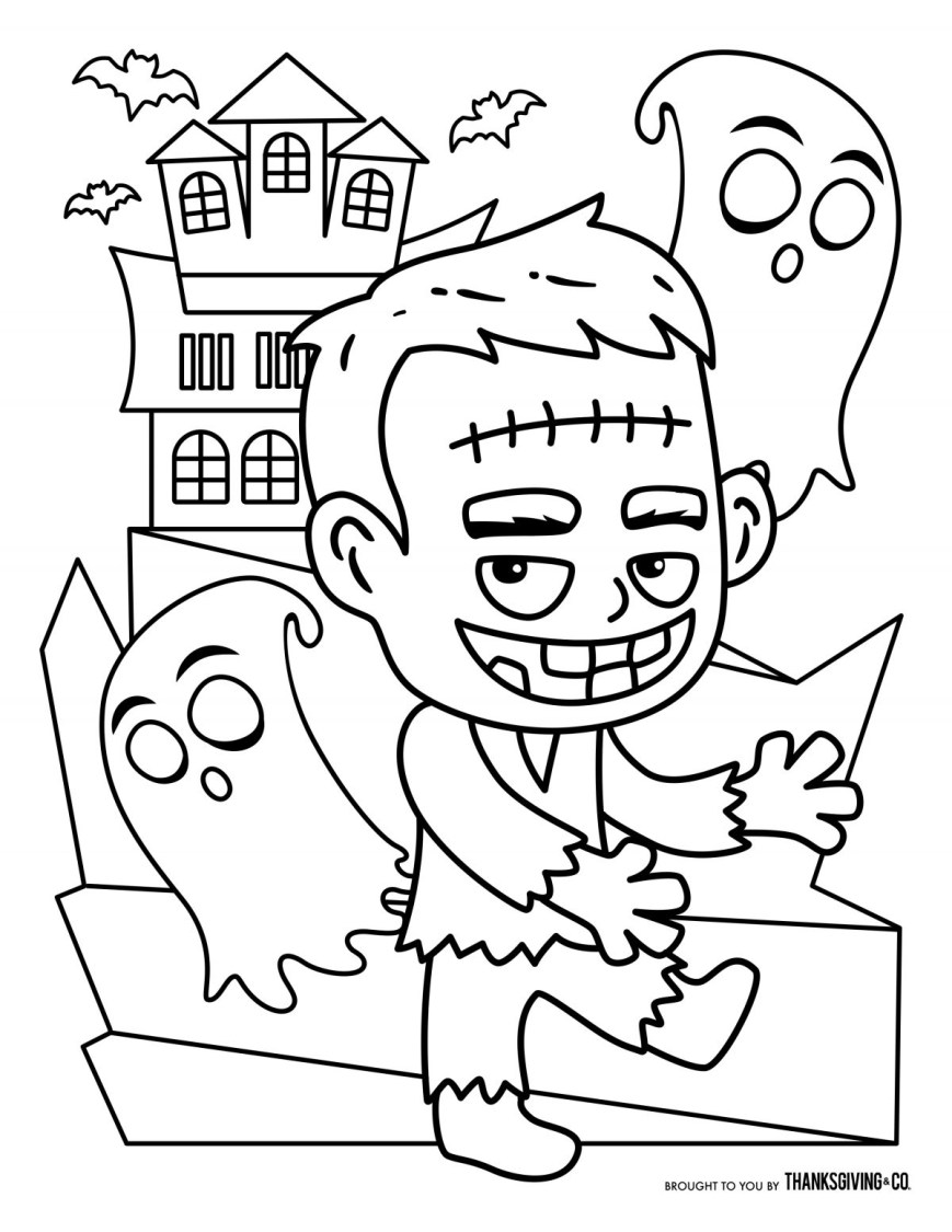 Halloween Coloring Pages Free Coloring Pages Outstanding Free Halloween Coloring Pages Picture