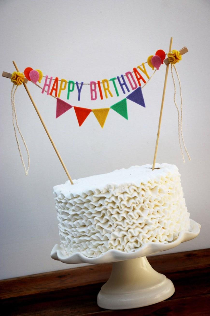 Happy Birthday Cake Banner Pin Pam Derkus On Cakes Pinterest Birthday Cake Cake And