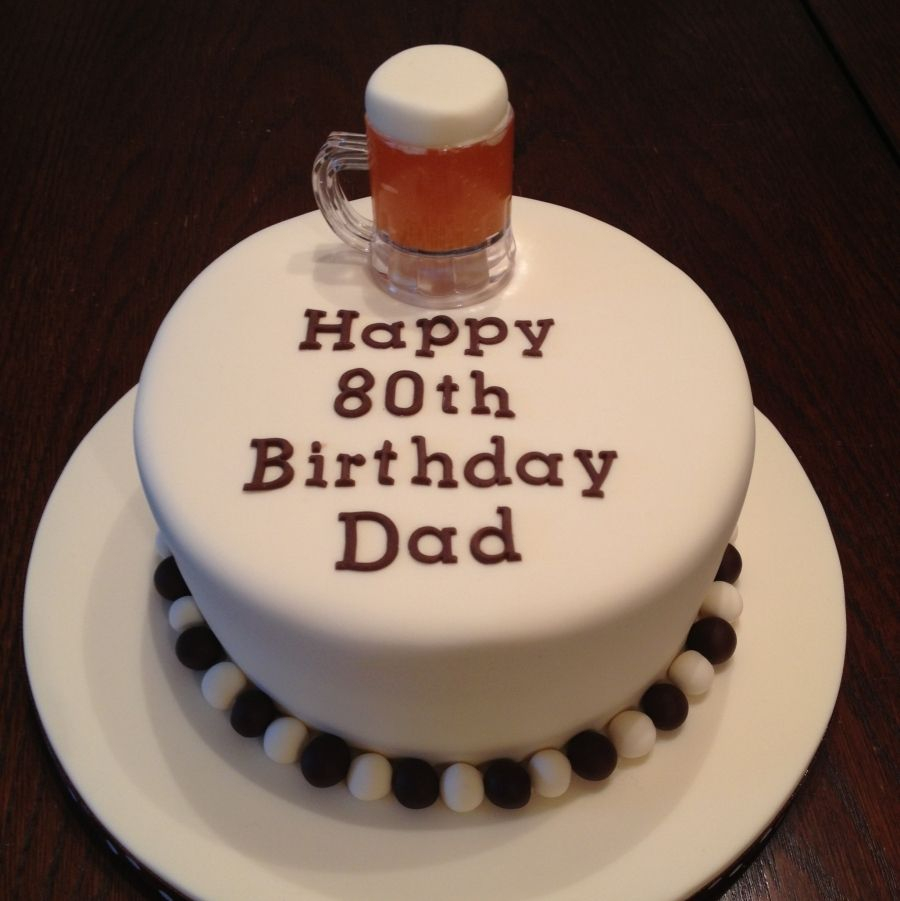 Happy Birthday Cake For Men 15 80th Cakes Photo Male