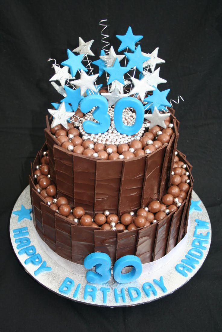 Happy Birthday Cake For Men Male Cakes