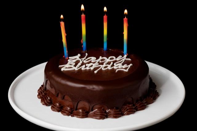 Happy Birthday Cake Pic 2 Layer Chocolate Birthday Cake Send Birthday Cakes Online
