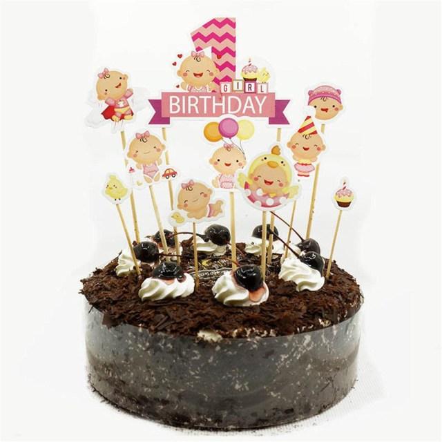 Happy Birthday Cake Pic Grohandel Happy Birthday Cake Topper Autos Stamm Ba Shower