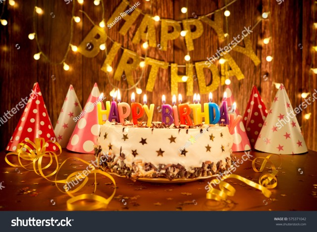Happy Birthday Cake Pic Happy Birthday Cake Candles On Background Stockfoto Jetzt