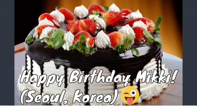Happy Birthday Cake Pic Happy Birthday Cake Picture Youtube