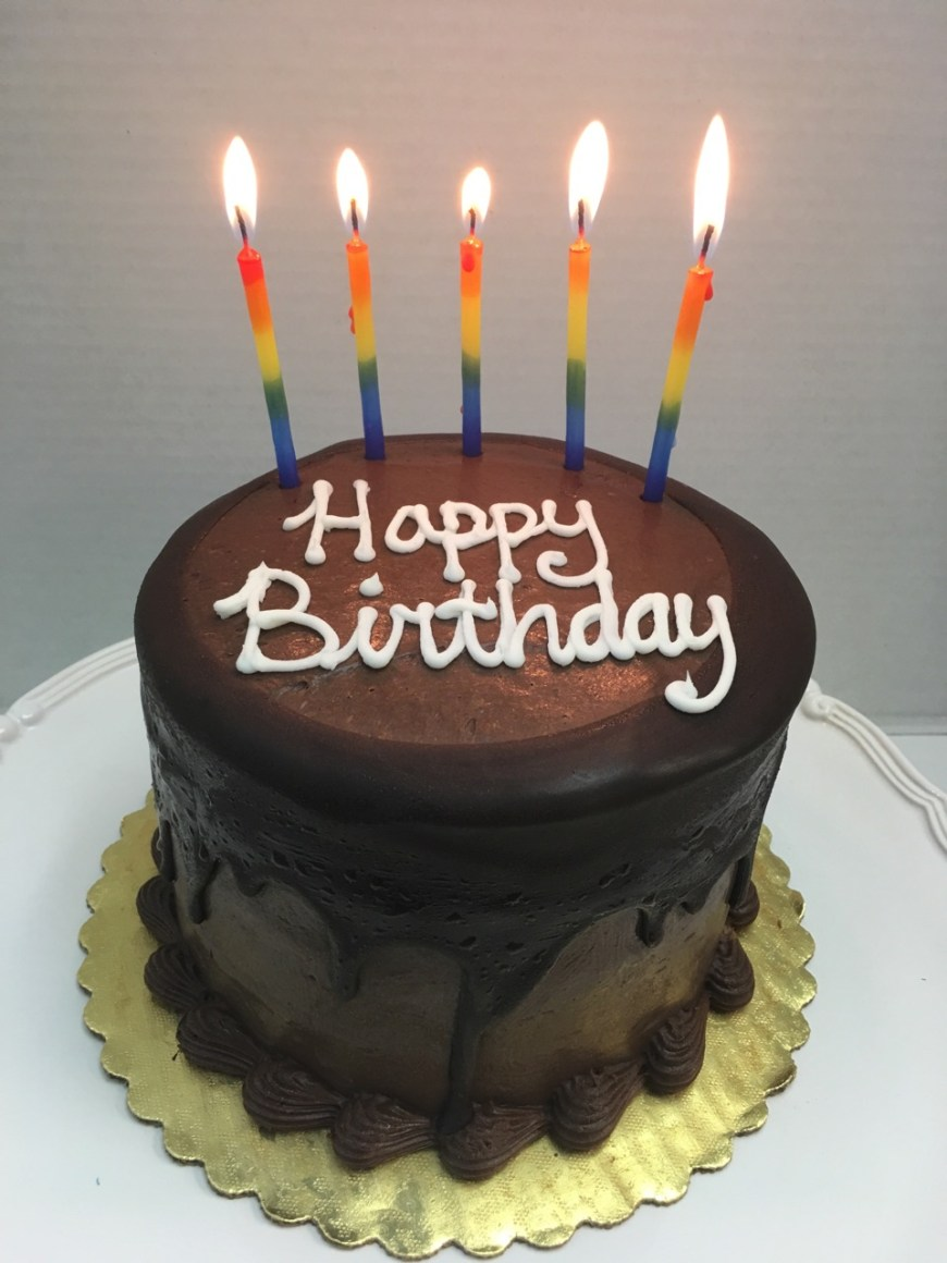 Happy Birthday Cake Pic Moist Chocolate Layer Cake Tall Birthday Cake Fort Lauderdale