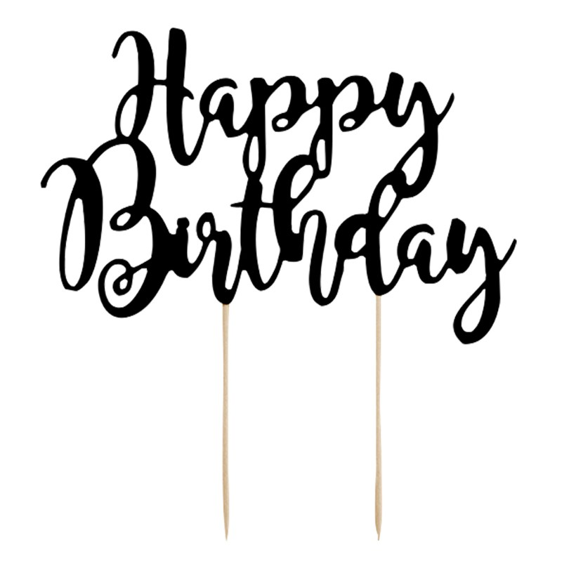 Happy Birthday Cake Topper Cake Topper Happy Birthday Der Ideen Shopde