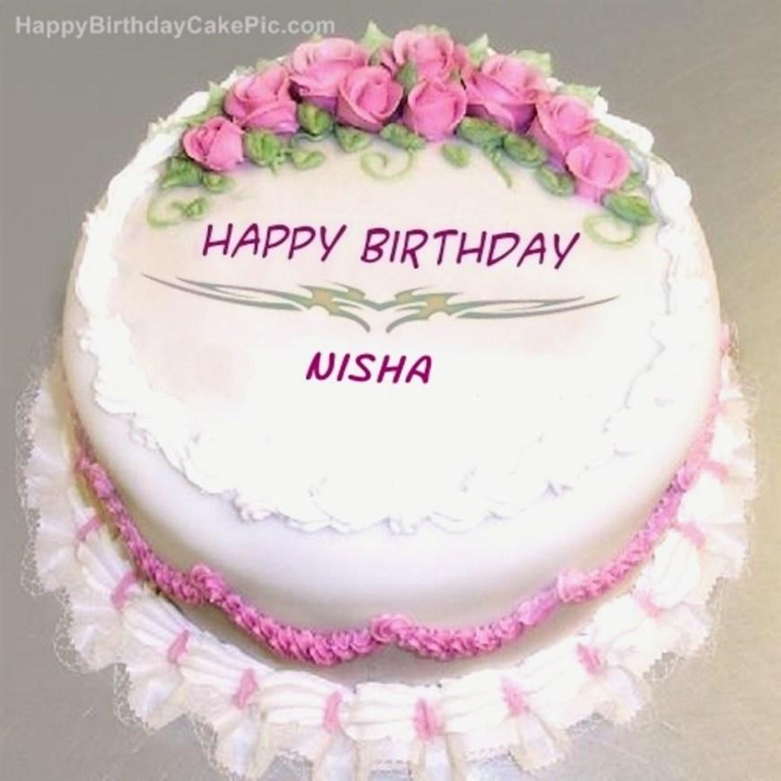 Happy Birthday Cake With Name Amazing Birthday Cake Pic With Name Nisha For Winsome Birthday