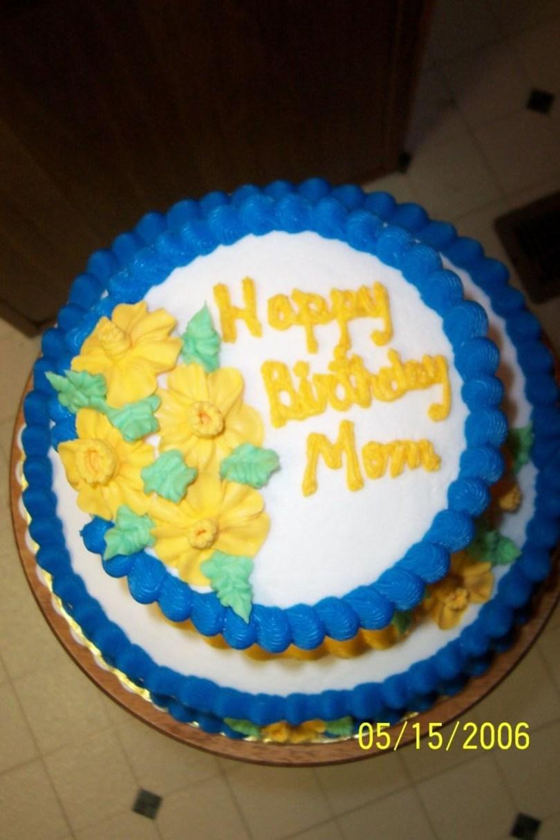 Happy Birthday Mom Cake Happy Birthday Mom Cakecentral
