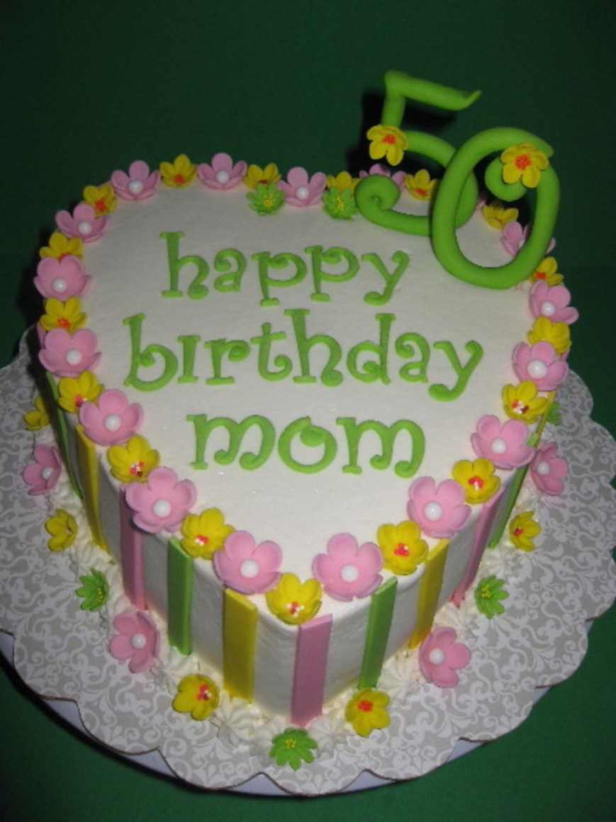 Happy Birthday Mom Cake Happy Birthday Mom Cakecentral