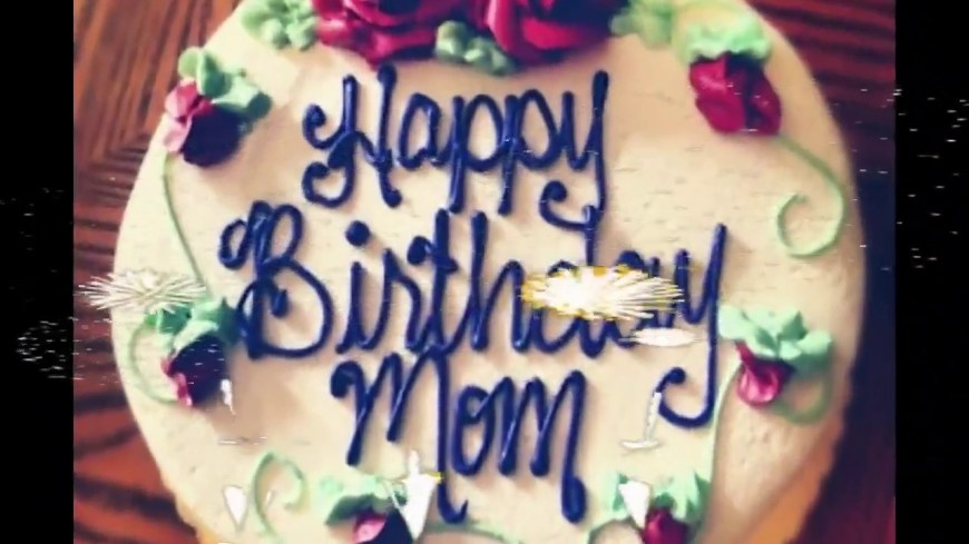 Happy Birthday Mom Cake Happy Birthday Mom Whatsapp Status Youtube
