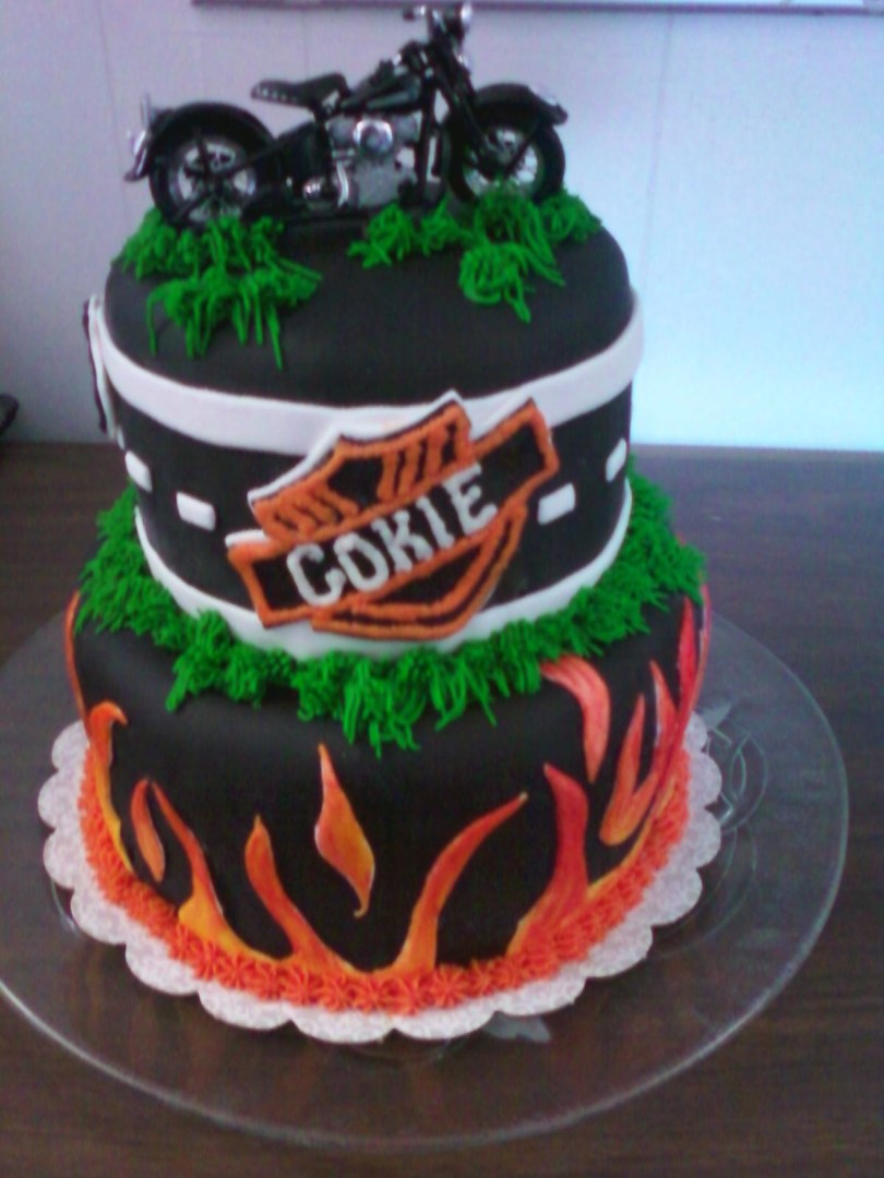 Harley Davidson Birthday Cakes Baking Memories Harley Davidson Birthday Cake