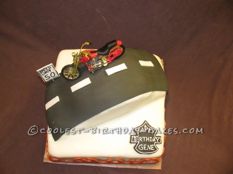 Harley Davidson Birthday Cakes Cool Harley Davidson Birthday Cake