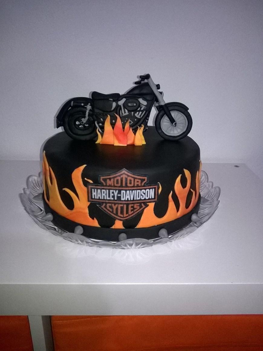 Harley Davidson Birthday Cakes Harley Davidson Cake Party Pinterest Cake Harley Davidson