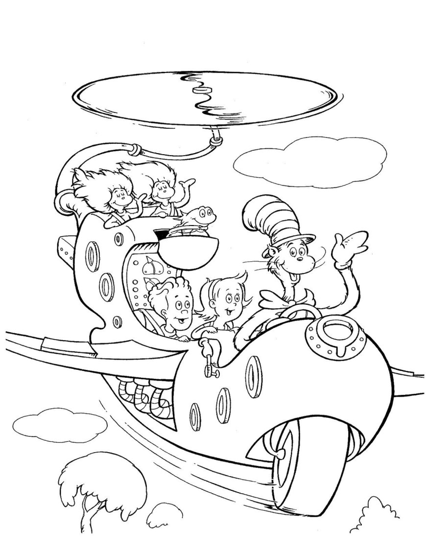 Hat Coloring Page For Cat And The Hat Hat Coloring Page Best Coloring Pages Collection