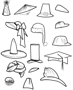 Hat Coloring Page Hat Coloring Pages Best Coloring Pages For Kids