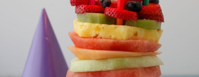 Healthy Birthday Cakes Fruit Tower Birthday Cake Dessert Recipes Birthday Cake Healthy