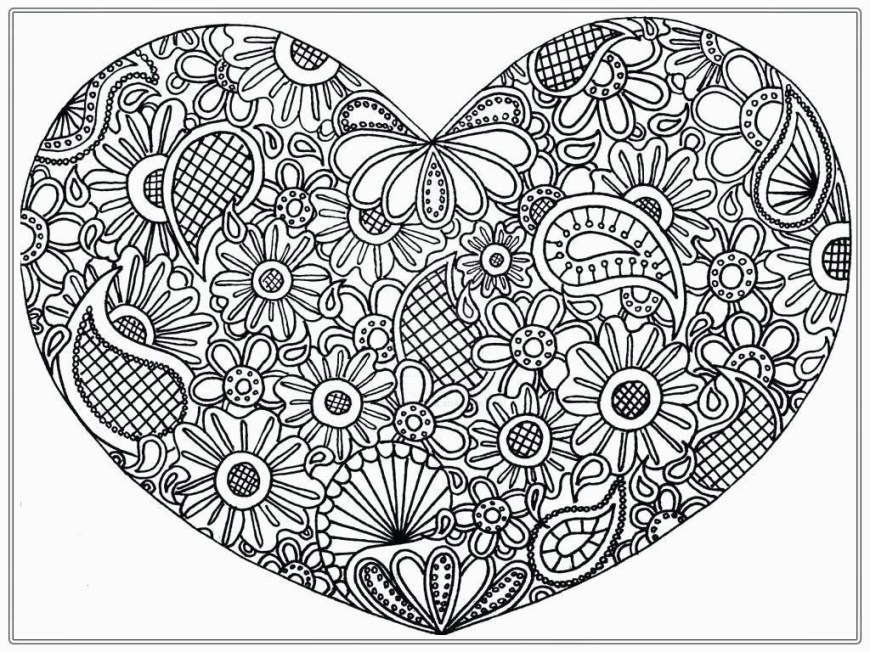 Hearts Coloring Pages Adult Coloring Pages Hearts Coloring Chrsistmas For Ag Coloring
