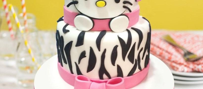 Hello Kitty Birthday Cake Hello Kitty Birthday Cake