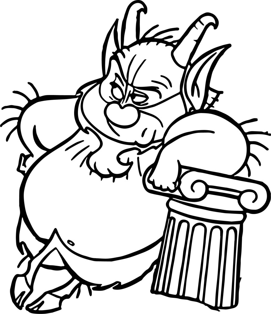 Hercules Coloring Pages Phil Hercules Lean Coloring Page Wecoloringpage
