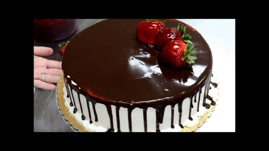 Homemade Birthday Cake Recipe How To Make Birthday Cake Less Then 2min Fruit And Chololate