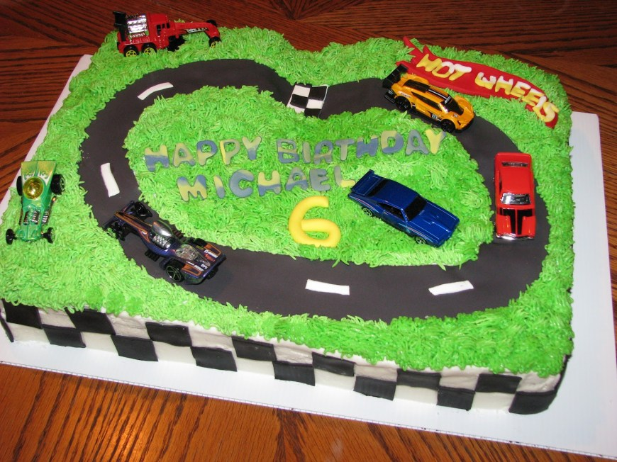 Hot Wheels Birthday Cake Bake Me A Cake Hot Wheels Birthday Cake