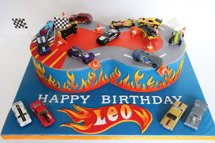 Hot Wheels Birthday Cake Celebrate With Cake Hot Wheels Cake