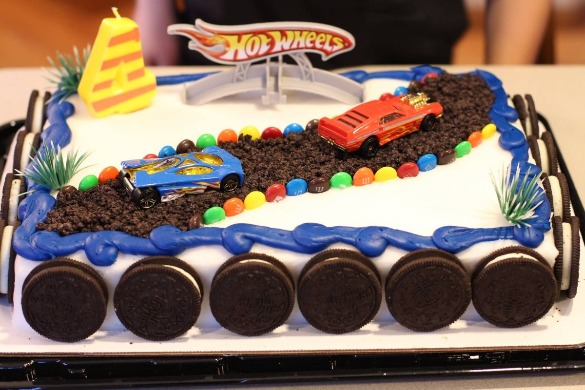 32+ Great Image of Hot Wheels Birthday Cake