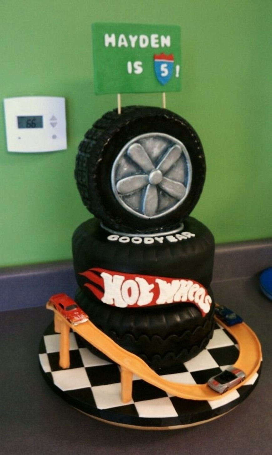 Hot Wheels Birthday Cake Hot Wheels Birthday Cakecentral