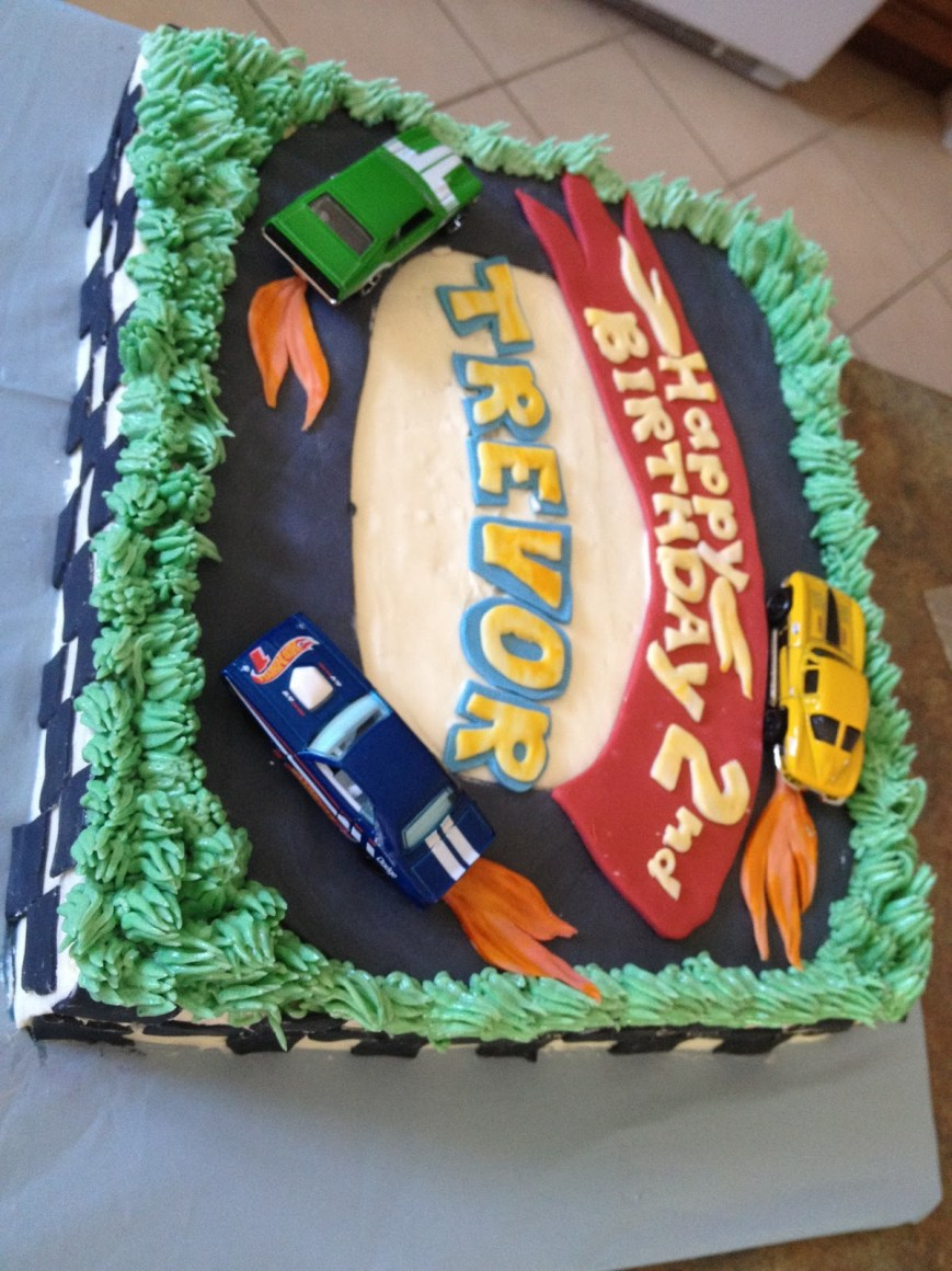 Hot Wheels Birthday Cake Second Generation Cake Design Hot Wheels Birthday Cake