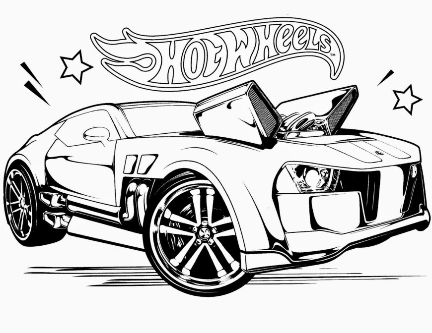 Hot Wheels Coloring Pages Cool Hot Wheels Racing League Hot Wheels Coloring Pages Set 4 Free