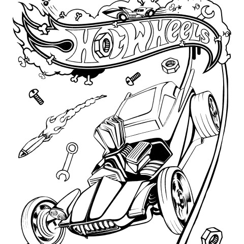 Hot Wheels Coloring Pages Hot Wheels Coloring Pages Free Coloring Pages