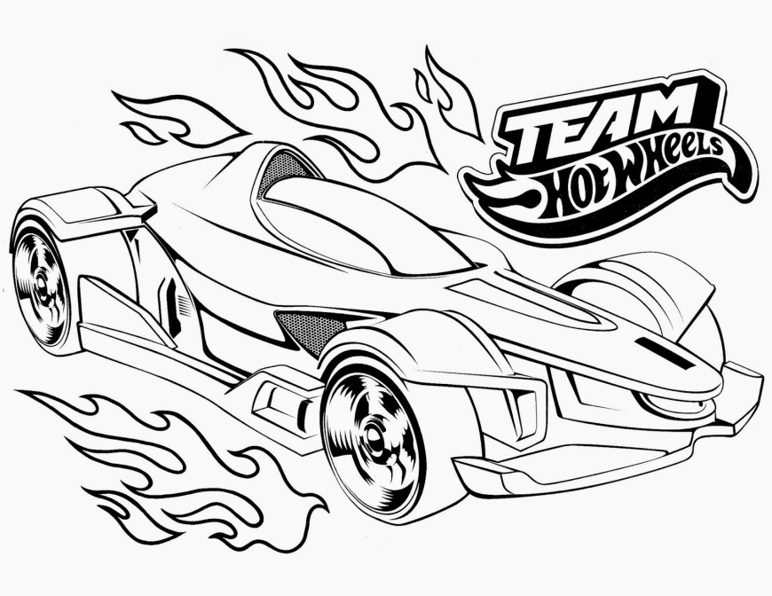 Hot Wheels Coloring Pages Hot Wheels Racing League Hot Wheels Coloring Pages Set 5