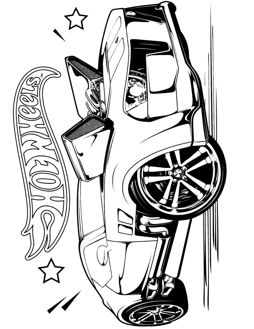 Hot Wheels Coloring Pages Team Hot Wheels Coloring Pages 1 Malvor