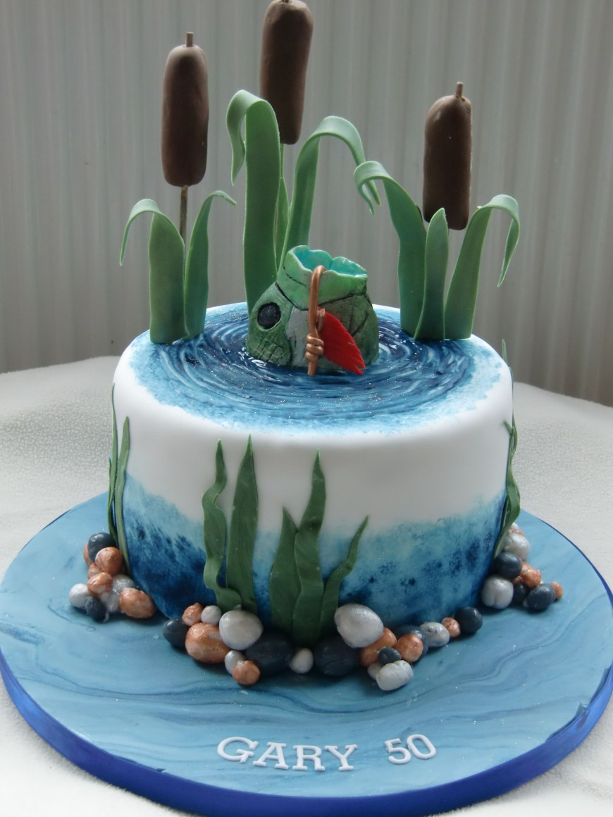 Huge Birthday Cake I Like Cake Cat Tails Are To Huge Fish Also Really Big Www