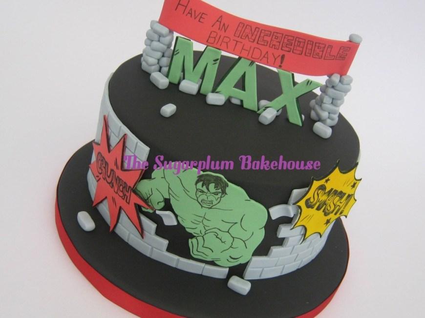 Incredible Hulk Birthday Cake The Incredible Hulk Birthday Cake Cakecentral