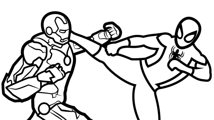Iron Man Coloring Page Ba Spiderman Coloring Pages Best Ideas Of Iron Man Coloring Pages