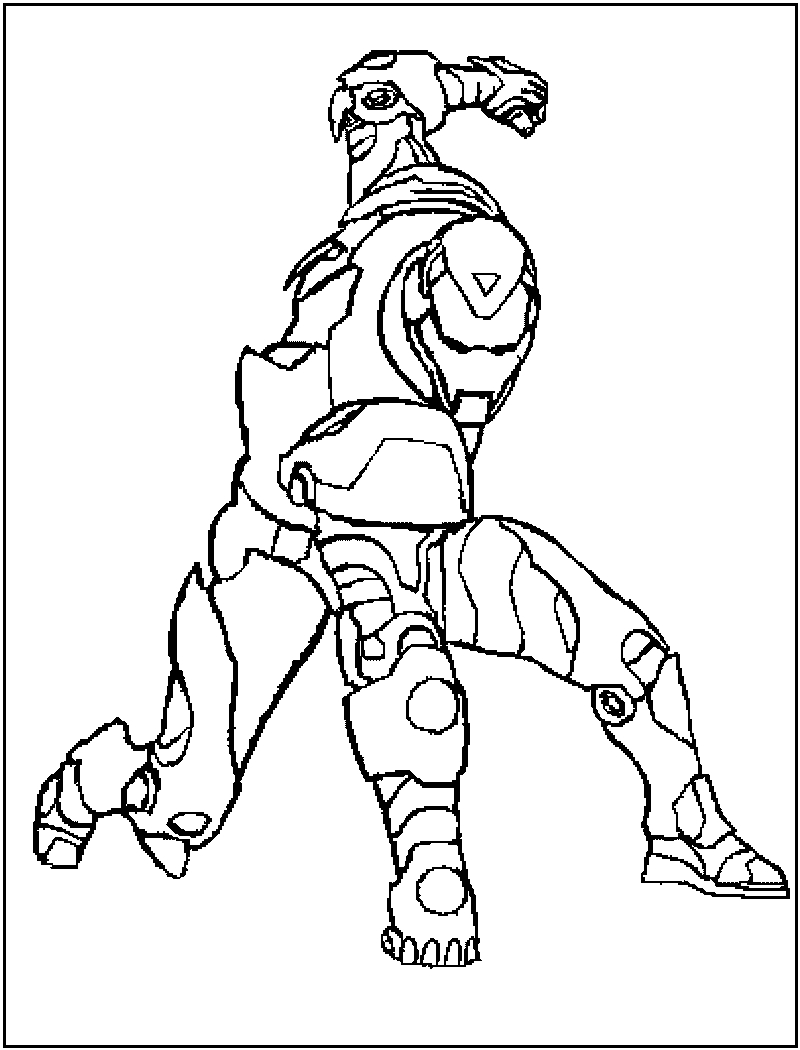 Iron Man Coloring Page Free Printable Iron Man Coloring Pages For Kids Best Coloring