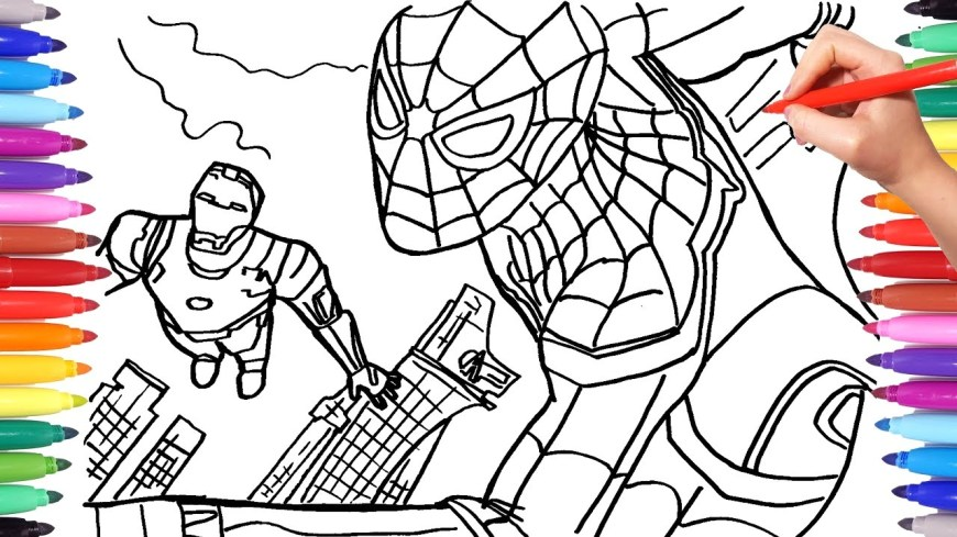 Iron Man Coloring Page Maxresdefault Iron Man Coloring Pages Telematik Institut