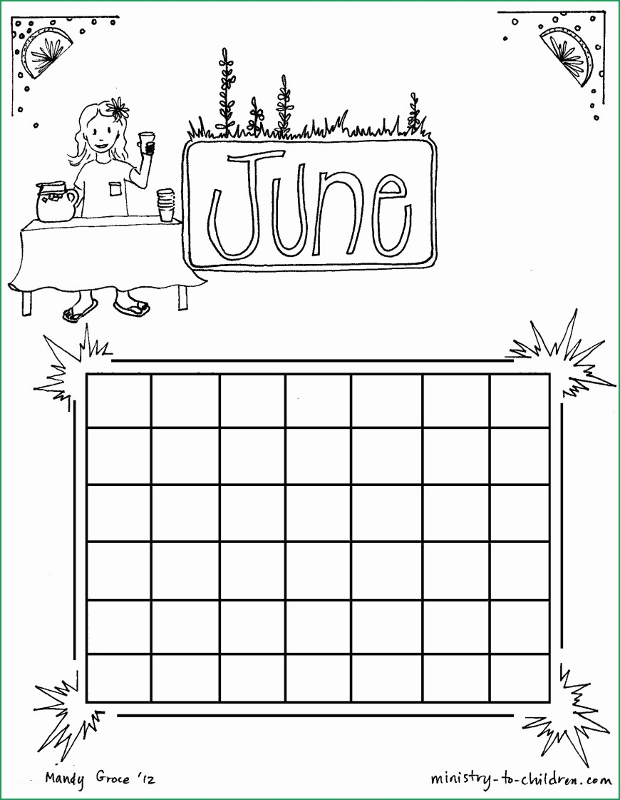 June Coloring Pages Calendar Coloring Pages Beautiful June Coloring Sheet Calendar For